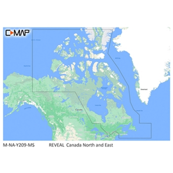 C-MAP Reveal NA-Y209 Canada North and East
