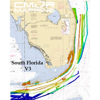 CMOR Chart for South Florida for Navico