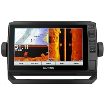 Garmin ECHOMAP Plus 93sv with LakeVu G3 Charts and Transducer