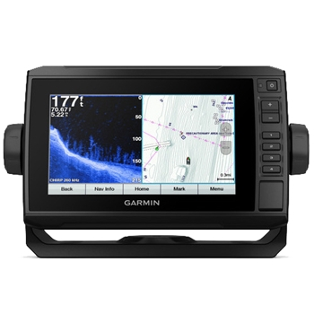 Garmin ECHOMAP Plus 74cv with BlueChart G3 Charts and Transducer
