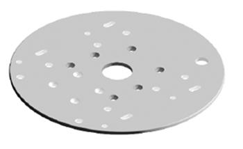 Edson Vision Series Radar Mounting Plate for Garmin Open Array Radar
