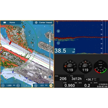 Furuno NavNet TZtouch2 12 Combined Chartplotter Fishfinder