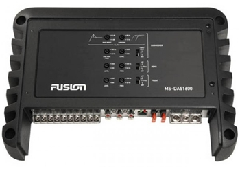 Fusion DA-51600 1600 Watt 5 Channel Marine Amplifier