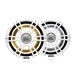 "Fusion SG-F772SPW 7.7"" Signature 3 Sport White Speakers with  LED Lighting"