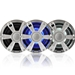 "Fusion Signature 6.5"" Chrome LED Speakers"
