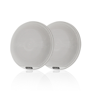 "Fusion Signature 6.5"" White Speakers"