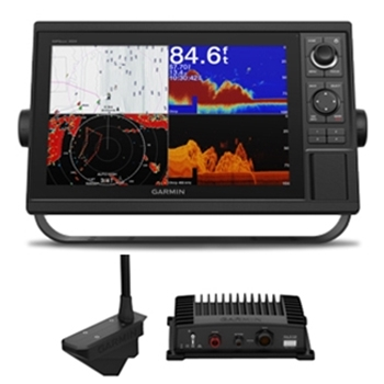 Garmin GPSMAP 1242xsv with Transducer and LiveScope Bundle