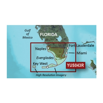 Garmin Bluechart G2 for Florida Everglades and Keys