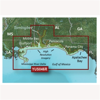 Garmin Bluechart G2 for Alabama/Mississippi Gulf Coast