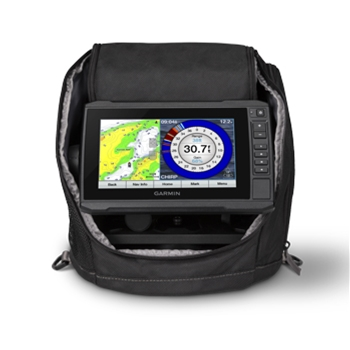 Garmin ECHOMAP Plus 73cv Ice Fishing Bundle