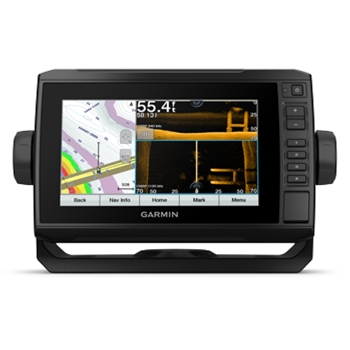 Garmin ECHOMAP UHD 73sv with LakeVu G3 Charts and Transducer