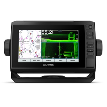 Garmin ECHOMAP UHD 74sv with Bluechart G3 Charts and Transducer
