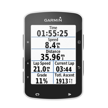 Garmin Edge 520 Bike GPS Computer Bundle