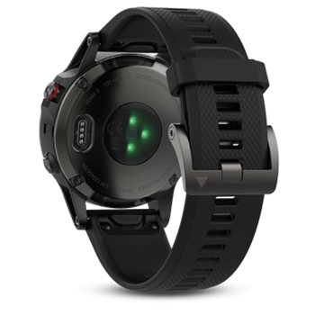 Garmin Fenix 5 Sapphire Multisport GPS Watch with Black Band