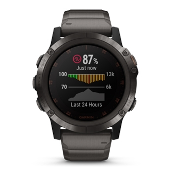 Garmin fenix 5X Plus Sapphire GPS Watch with Titanium Band