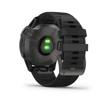 Garmin Gps Watch >> Garmin Fenix 6 Sapphire Carbon Gray Dlc With Black Band Gps Watch