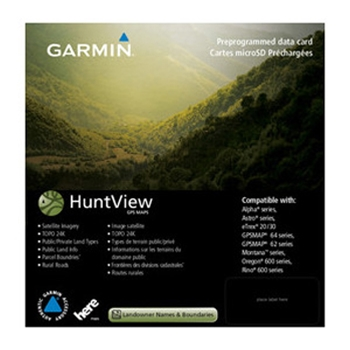 Garmin HuntView Maps - West Virginia