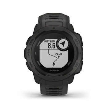 Garmin Instinct Rugged GPS Watch Graphite