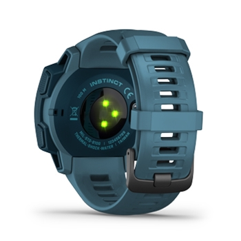 Garmin Instinct Rugged GPS Watch Lakeside Blue
