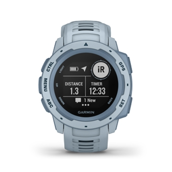 Garmin Instinct Rugged GPS Watch Sea Foam