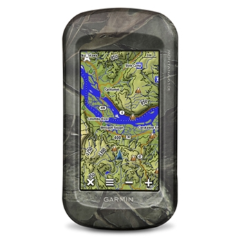 Garmin Montana 610T Camo Handheld GPS with Topo Maps