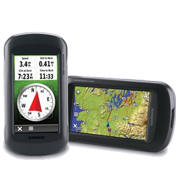 Images of Garmin Montana 650t Touch Screen Handheld GPS with