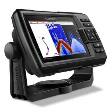 garmin striker 5dv fishfinder with chirp downvu the gps store, Fish Finder
