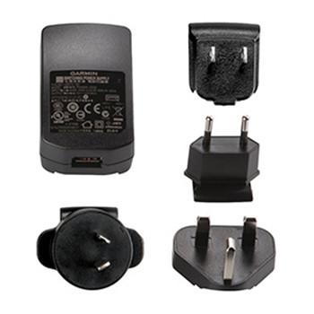 Garmin USB Charger with International Adapters