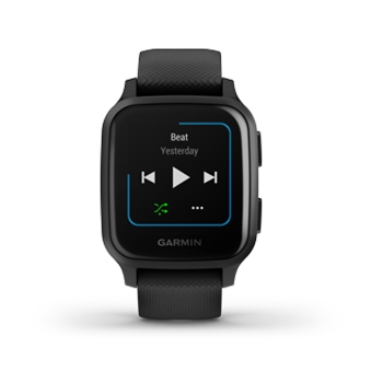 Garmin VENU SQ Music Smartwatch Black