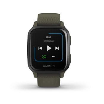 Garmin VENU SQ Music Smartwatch Moss