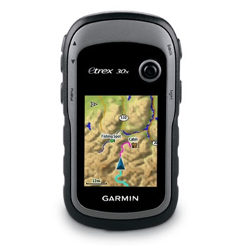 Garmin eTrex 30x Worldwide Handheld GPS with Compass and Altimeter