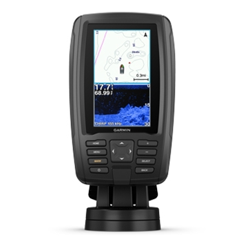 Garmin ECHOMAP Plus 44cv with BlueChart G3 Charts and Transducer