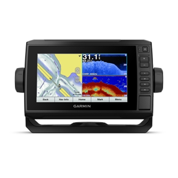 Garmin ECHOMAP Plus 73cv with LakeVu G3 Charts and Transducer