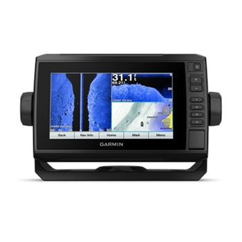 Garmin ECHOMAP Plus 73sv with LakeVu G3 Charts and Transducer