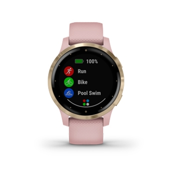 Garmin vivoactive 4s GPS Smartwatch Dust Rose