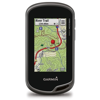 Garmin Oregon 650T Handheld GPS With US Topo Maps P3502 on gps handheld marine
