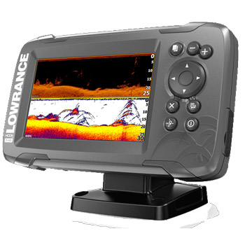 Lowrance HOOK2 5 SplitShot with Navionics+ Maps