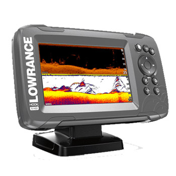 Lowrance HOOK2 5 SplitShot with US Inland Lakes
