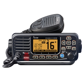 Icom M330G Compact Fixed Mount VHF with GPS