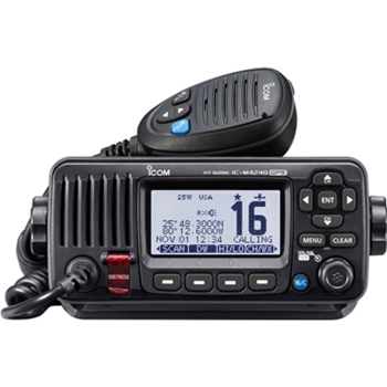 Icom M424G Fixed Mount VHF with GPS Black