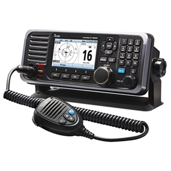Icom  M605 Fixed Mount VHF Radio With AIS