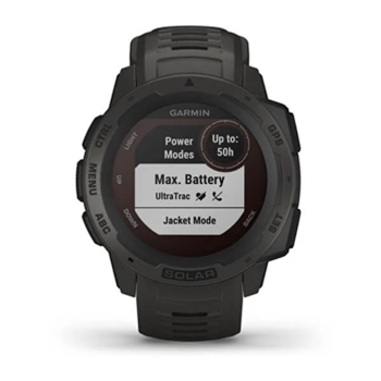 Garmin Instinct Solar Rugged GPS Watch Graphite