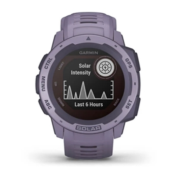 Garmin Instinct Solar Rugged GPS Watch Orchid
