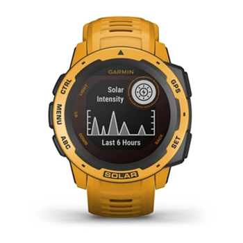 Garmin Instinct Solar Rugged GPS Watch Sunburst