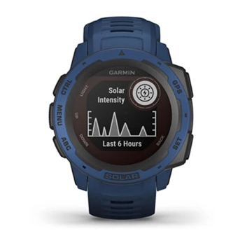 Garmin Instinct Solar Rugged GPS Watch Tidal Blue