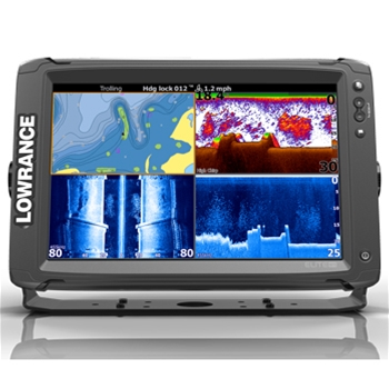Lowrance Elite 12Ti with Mid/High/TotalScan Transducer and CMap Pro