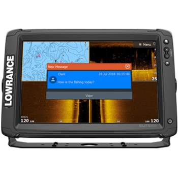 Lowrance Elite 12 Ti2 with C-MAP Lake Charts and 2 Transducer Package
