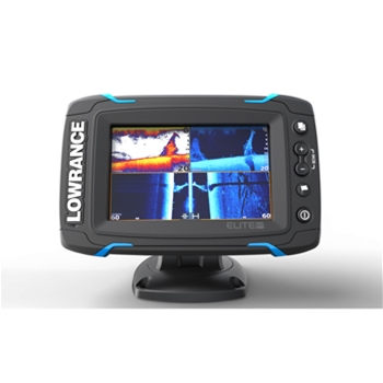 Lowrance Elite 5Ti with Mid/High/TotalScan Transducer and CMap Pro