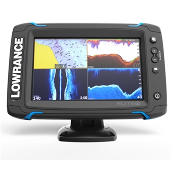 Lowrance Elite 7Ti with Mid/High/TotalScan Transducer and CMap Pro