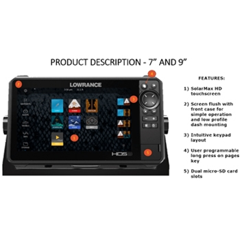 Lowrance HDS-7 LIVE without Transducer
